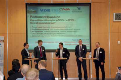 Elektrischer Bahnverkehr – Expertentreffen in Nürnberg