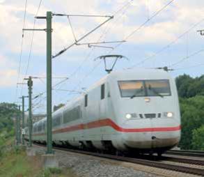 Beanspruchungen der Verankerungen von Fahrleitungsmasten an Hochgeschwindigkeitsstrecken aus Zugverkehr