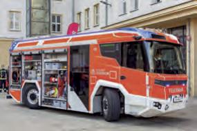 Elektrisches Feuerwehrfahrzeug