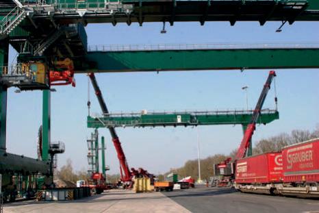 Containerzug-Verbindung Köln – China