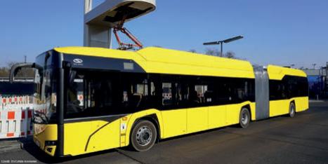 Elektrogelenkbusse für Berlin