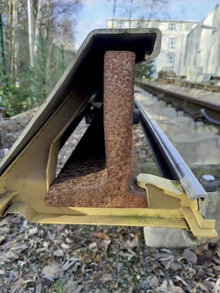 Besonderheiten der Stromschiene der Hamburger S-Bahn