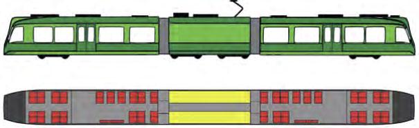 Einsatz batteriebetriebener Tram- Train-Fahrzeuge im Vollbahnbereich