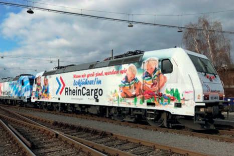 RheinCargo steigerte Güterverkehrsleistungen