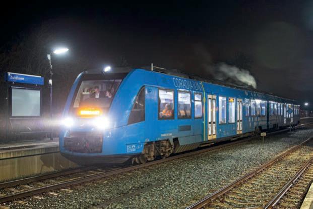 Corodia iLint im Testeinsatz in den Niederlanden (Foto: Alstom).