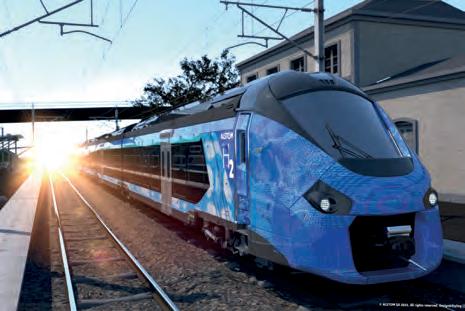 Erster Wasserstoffzug in Frankreich