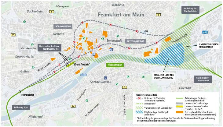 Fernbahntunnel Frankfurt am Main