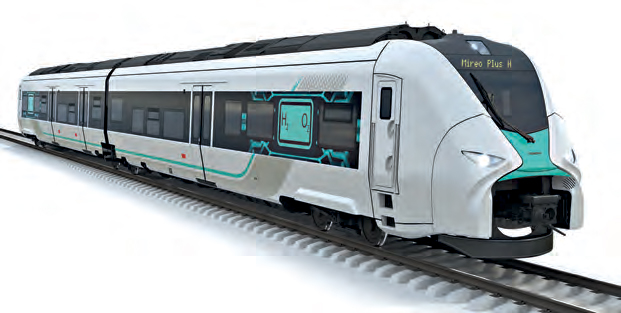 Wasserstoffbetriebener Regionalzug Mireo Plus H