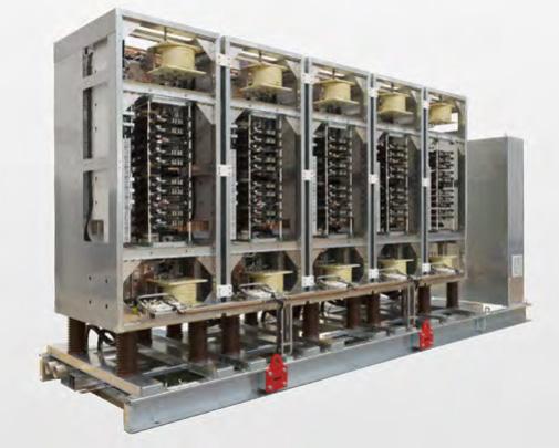 Erfolgreiche Einführung einer neuen Bahn-Umrichtergeneration von Hitachi ABB Power Grids