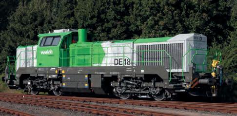 Güterzuglokmotiven mit On-Board-Signallösung