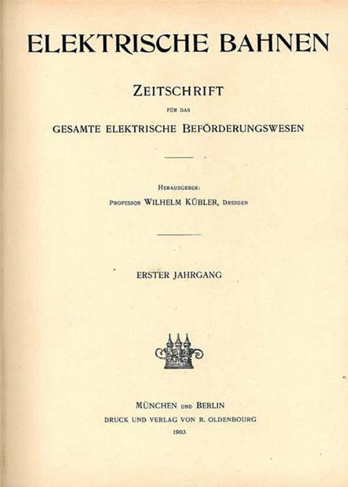 eb Ausgabe um 1903