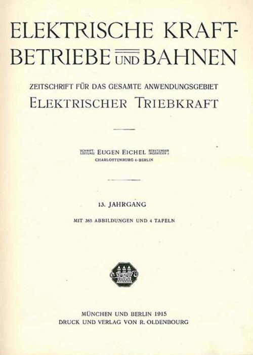 eb Ausgabe um 1915